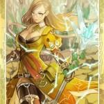【 ロードオブナイツ – Lord of Knights 】1番欲しかったカード[UR] 輝晶の魔女ミラをゴールドチケットでGET!!!!!!あれから一年余かぁ・・・